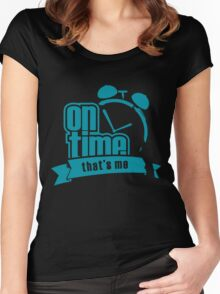 ON TIME Women's Fitted Scoop T-Shirt