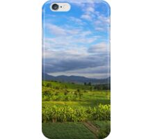 Beautiful valley in Pai, Thailand iPhone Case/Skin