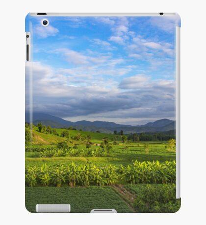 Beautiful valley in Pai, Thailand iPad Case/Skin