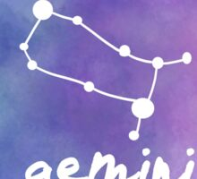 Gemini Constellation Sticker