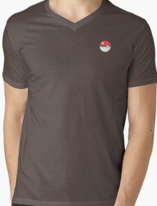 Pokeball red! Mens V-Neck T-Shirt
