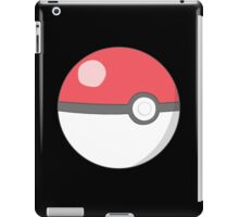Pokeball red! iPad Case/Skin