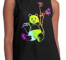 Cool Rainbow Panda  Contrast Tank