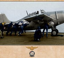 Grumman F4F-4 Wildcat by A. Hermann