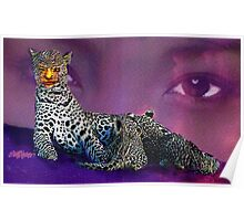 Leopard Lady Poster