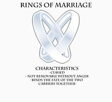 Rings of marriage Unisex T-Shirt