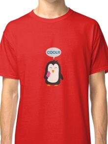 Penguin with popsicles   Classic T-Shirt
