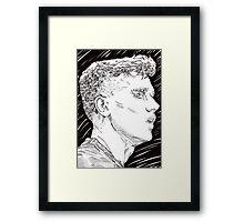 Griezmann - Fier Etre Bleu Framed Print