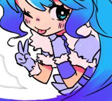 Chibi Yukiko (Colorful on Bright) Sticker