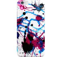 Colorful Paint Drips 13 iPhone Case/Skin