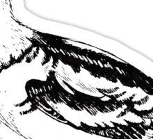 bird illustration 2 Sticker