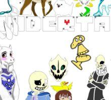 Undertale - Background Sticker