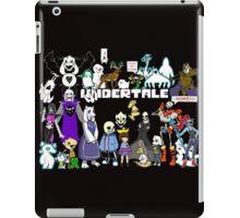 Undertale - Background iPad Case/Skin