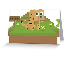 Creepers Beware!  Greeting Card