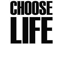 eighties ~ Choose Life  Photographic Print