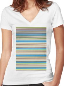 The Pastel Women's Fitted V-Neck T-Shirt