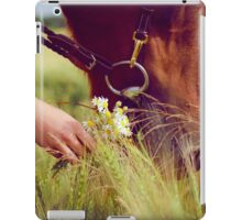 Horse Nose and Chamomile iPad Case/Skin