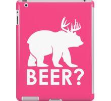 Bear with Horns iPad Case/Skin