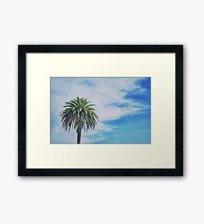 reset Framed Print