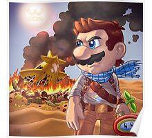 Mario Mashup: Uncharted 3 Poster