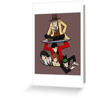 Lupin The Third Greeting Card