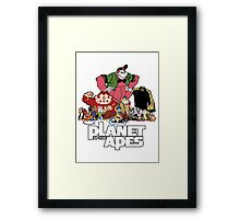 Planet of the Apes? Framed Print