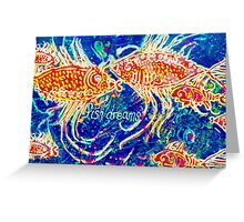 Fish Dreams Greeting Card