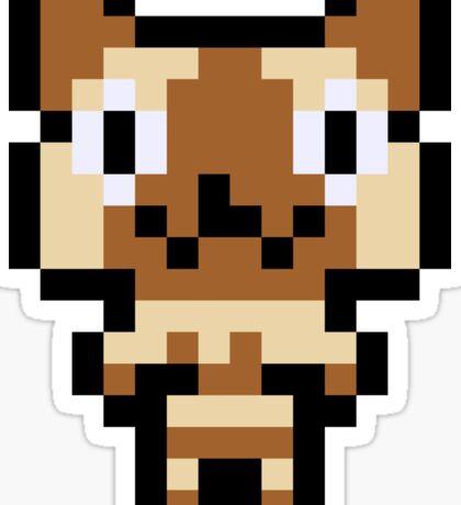 Pixel Felyne Sticker