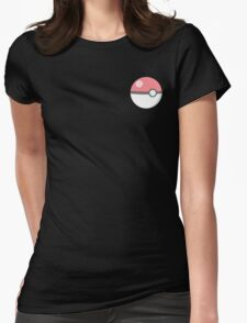 Pokeball cutie! Womens Fitted T-Shirt