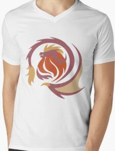 Emperor of Flames - Teostra Mens V-Neck T-Shirt