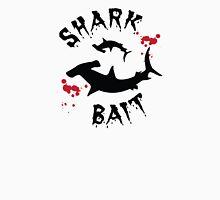 Shark Bait Hammerhead Shark Attack Blood Splats Mens V-Neck T-Shirt