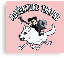 Adventure Time Parody Canvas Print