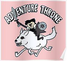 Adventure Time Parody Poster