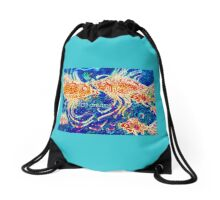 Fish Dreams Drawstring Bag