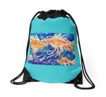 Fish Dreams Drawstring Bag