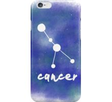 Cancer Constellation iPhone Case/Skin