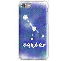 Cancer Constellation iPhone Case/Skin
