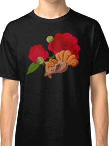 Vulpix with Peonies  Classic T-Shirt