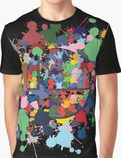 SMASH COLORS! Graphic T-Shirt