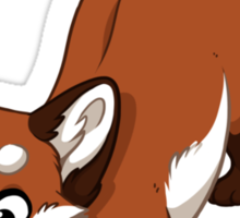 Little Red Fox Sticker