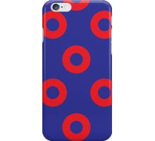 Phancy Red Circles iPhone Case/Skin