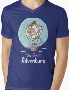 The Great Adventure Mens V-Neck T-Shirt