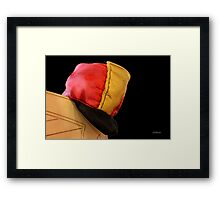 Here's Your Hat... Framed Print