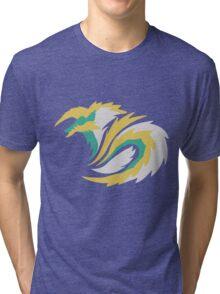 Full Moon's Lightning - Jinouga Tri-blend T-Shirt