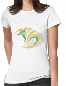 Full Moon's Lightning - Jinouga Womens Fitted T-Shirt