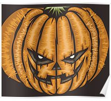 Halloween Pumpkin Scary Poster