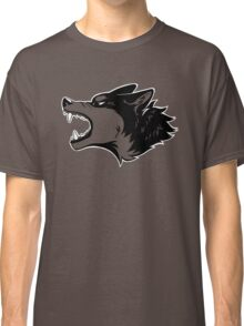 Angry Wolf Tee (Transparent) Classic T-Shirt