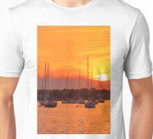 Fiery Skies Unisex T-Shirt