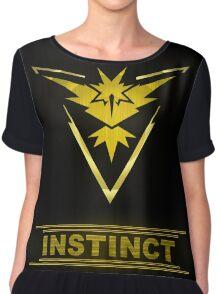 Pokemon Team Instinct Chiffon Top