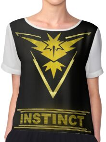 Pokemon Team Instinct Chiffon Top